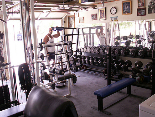 home gym pictures inspirational home gym ideas the. Black Bedroom Furniture Sets. Home Design Ideas