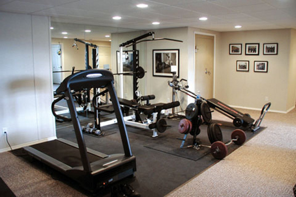 Home gym pictures inspirational ideas the