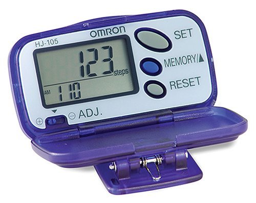 Omron HJ-105 Pedometer Review